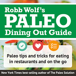 Robb Wolf- Paleo Dining Out Guide