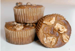 Paleo Breakfast Ideas - Banana Walnut Muffins