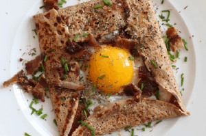 Paleo Breakfast Ideas - Basic Chestnut Flour Crepes