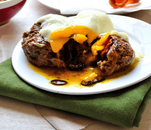 Paleo Breakfast Ideas - Breakfast Burgers