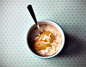 Paleo Breakfast Ideas - Coconut Porridge