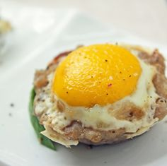 Paleo Breakfast Ideas - Inside out Scotch Eggs