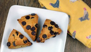 Paleo Breakfast Ideas - Orange Dark Chocolate Chip Scones