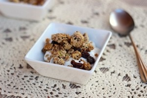 Paleo Breakfast Ideas - Paleo Almond Honey Granola