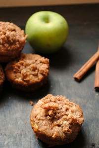 Paleo Breakfast Ideas - Paleo Apple Cinnamon Streusel Muffins
