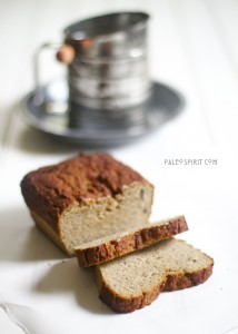 Paleo Breakfast Ideas - Paleo Banana Cardamom Bread