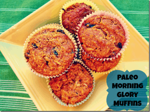 Paleo Breakfast Ideas - Paleo Morning Glory Muffins