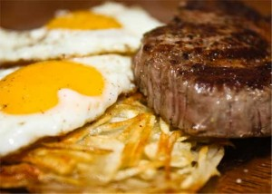 Paleo Breakfast Ideas - Steak and eggs hash recipe