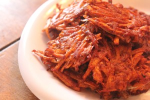 Paleo Breakfast Ideas - Sweet Potato Cinnamon Hashies
