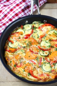 Paleo Breakfast Ideas - Vegetable Frittata