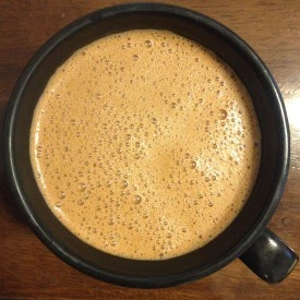 keto coffee mocha in mug
