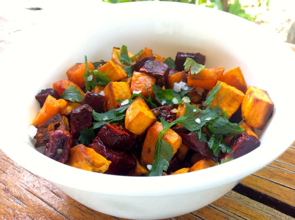 Roasted Sweet Potato & Beets