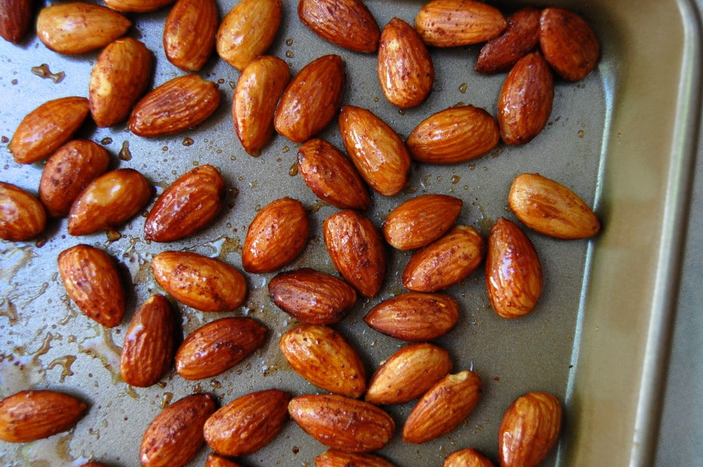 how to make honey roasted almonds