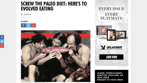 Is This The Worst Paleo Article Ever?