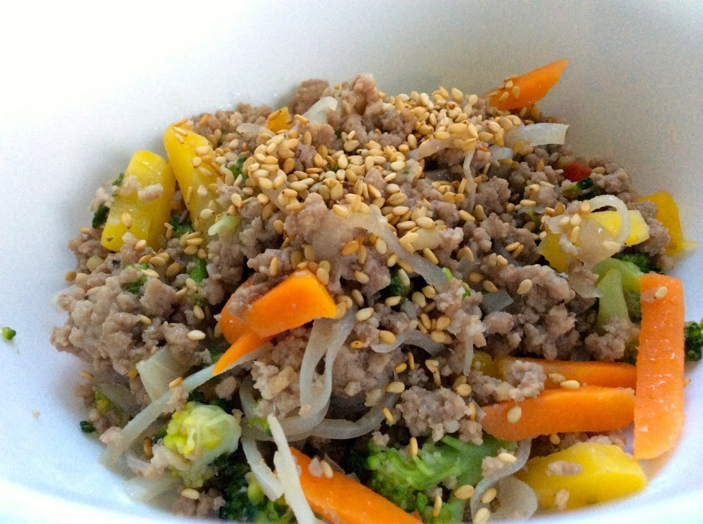 Paleo Ground Beef Stir-Fry