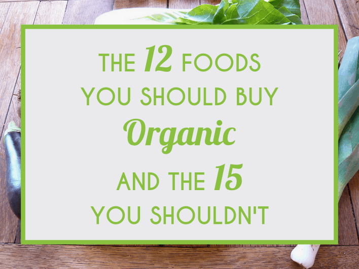 The 12 Foods You Should Buy Organic