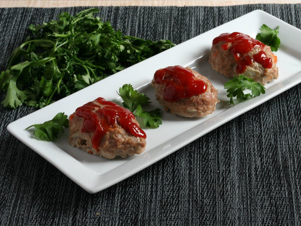 Mini Paleo Meatloaves 2
