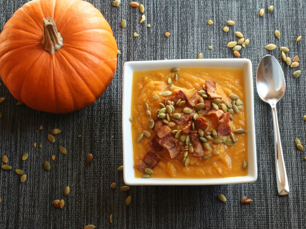 Pumpkin Bacon Soup 2