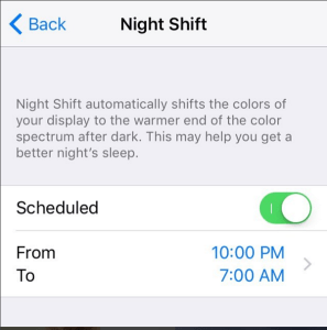 "Sleep Better at Night – Enable ""Night Shift"" on your Apple device"