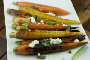 Roasted Thanksgiving Carrots
