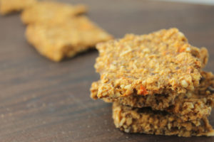 Savory Grain Free Crackers
