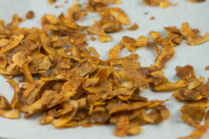 Smoked Coconut Chips