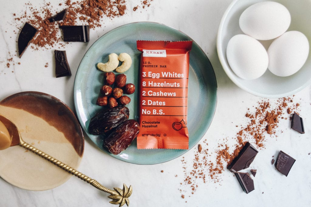 chocolate hazelnut rxbar ingredients