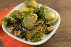 garlic-bacon-brussels-sprouts