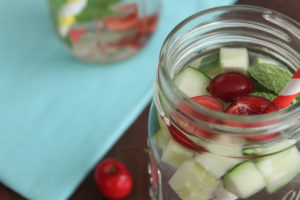 Cherry Cucumber Water