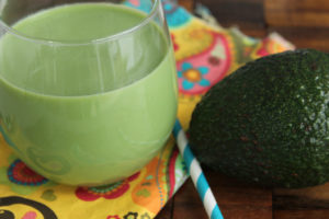 Maple Avocado Coconut Smoothie