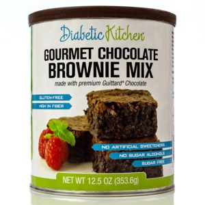 Diabetic Kitchen Gourmet Chocolate Brownies