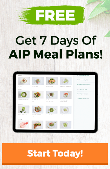 The AIP Diet Meal Plan