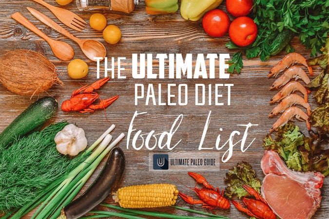 paleo diet food list vegetables shrimp coconut