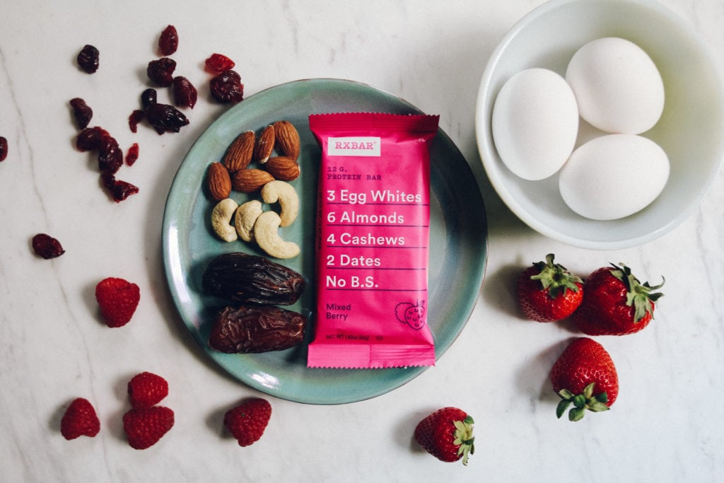 rxbar ingreidents dates eggs berries almonds cashews