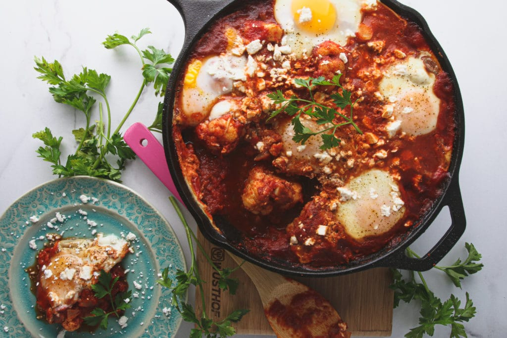 cauliflower shakshuka