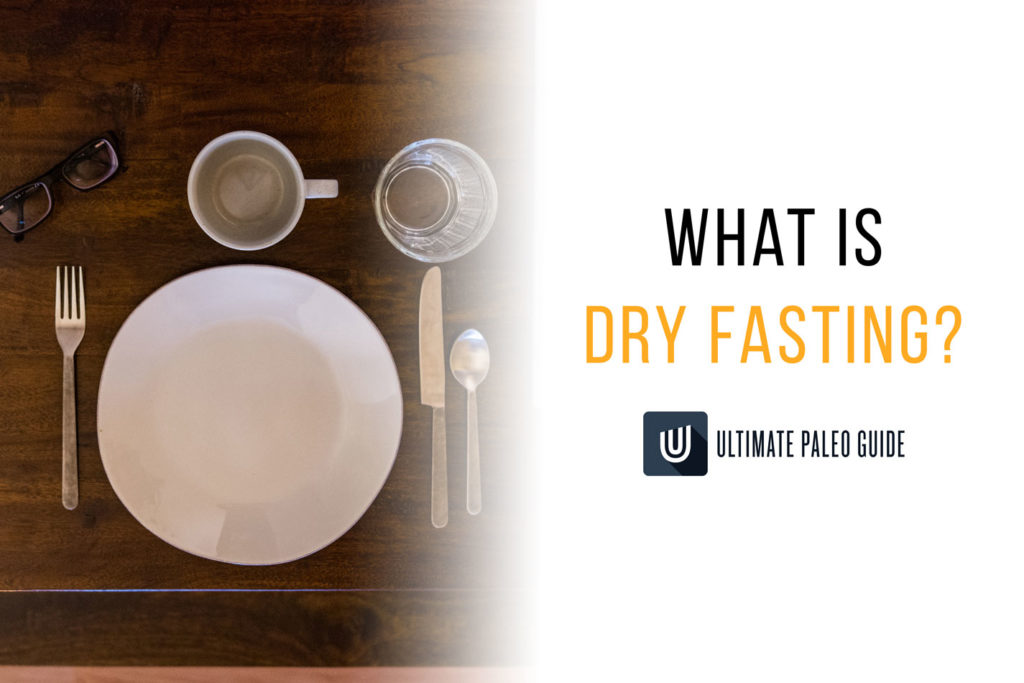 dry fasting empty plate